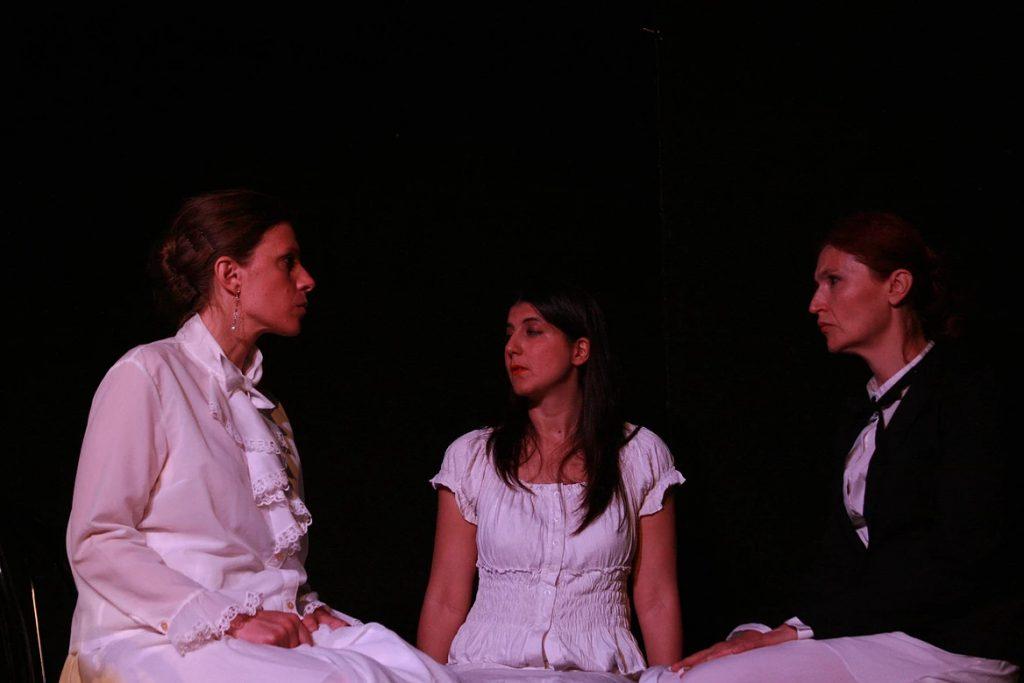 Fabiola Gizzi, Monica De Simone e Sabina Di Franco